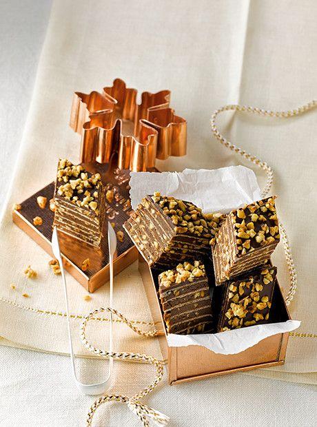 Lindt & Sprngli | Schokoladen-Karamell-Pralinen | Kekse ...