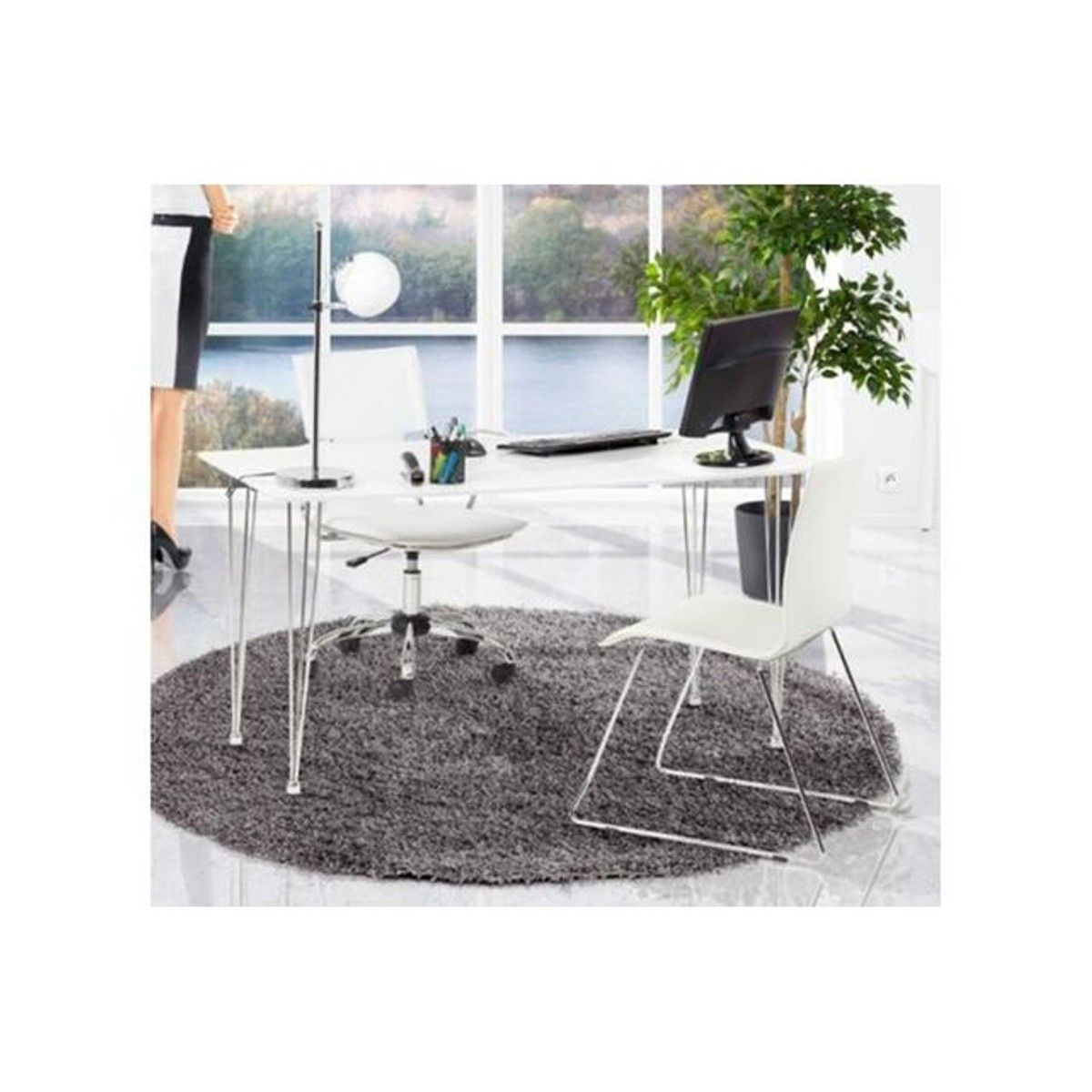 Tapis Rond 160 Tapis Rond 160 Gris Chance Products Chair Furniture Et Home Decor