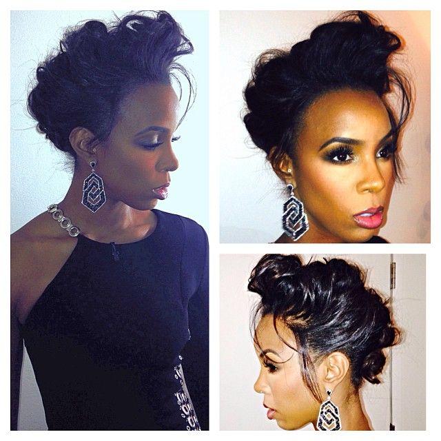 Kelly Rowland X Factor Makeup Get Her Exact Look Blaqvixenbeauty