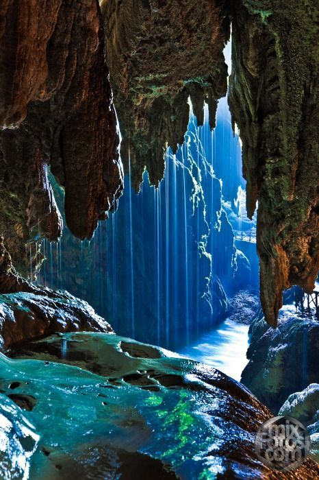 Iris Cave Monasterio De Piedra Zaragoza Spain Wonders Of The World Nature Waterfall