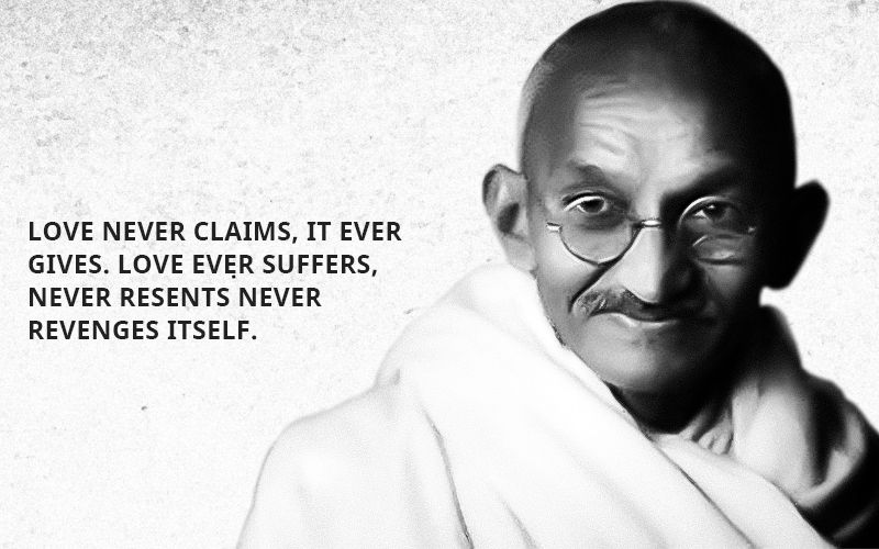 Gandhi Quotes On Love Freedom Fighters Pinterest Gandhi Mesmerizing Mahatma Gandhi Quotes On Love