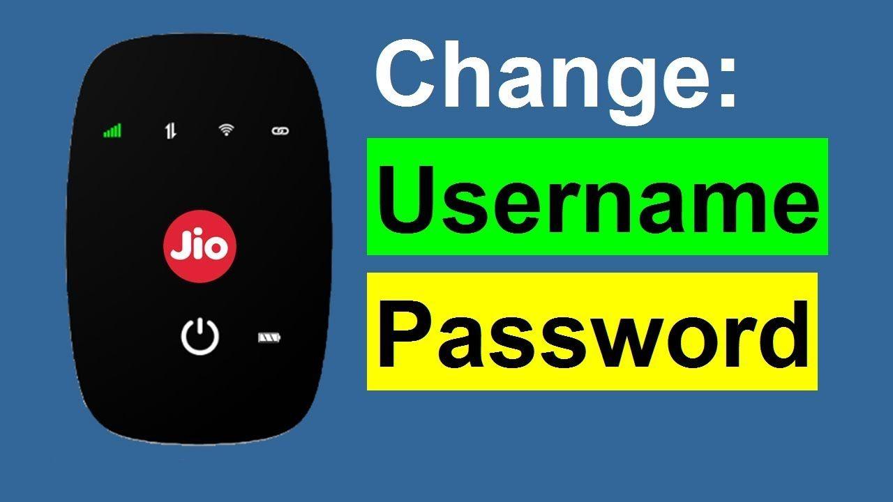 JioFi Password Change Kaise Kare   How to Change JioFi Password and