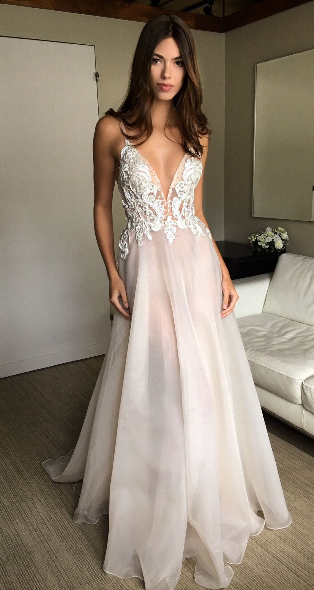 Amata from the new bridal line by berta muse wedding