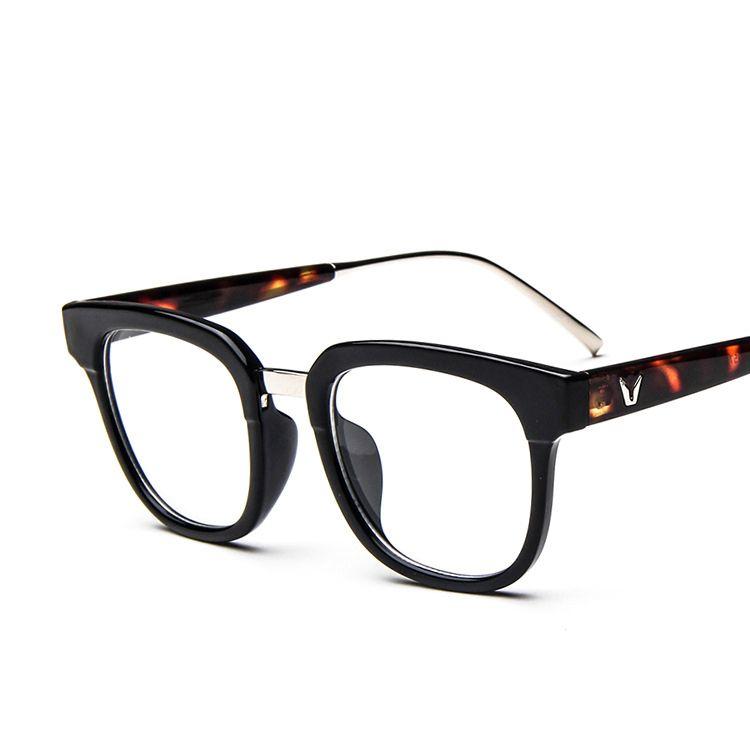 e74592a532 2017 Fashion Glasses Frame Retro Optical Frame Lentes Opticos Eyewear  Eyeglasses Clear Eye Glasses Frames For Women Men Gafas  Affiliate