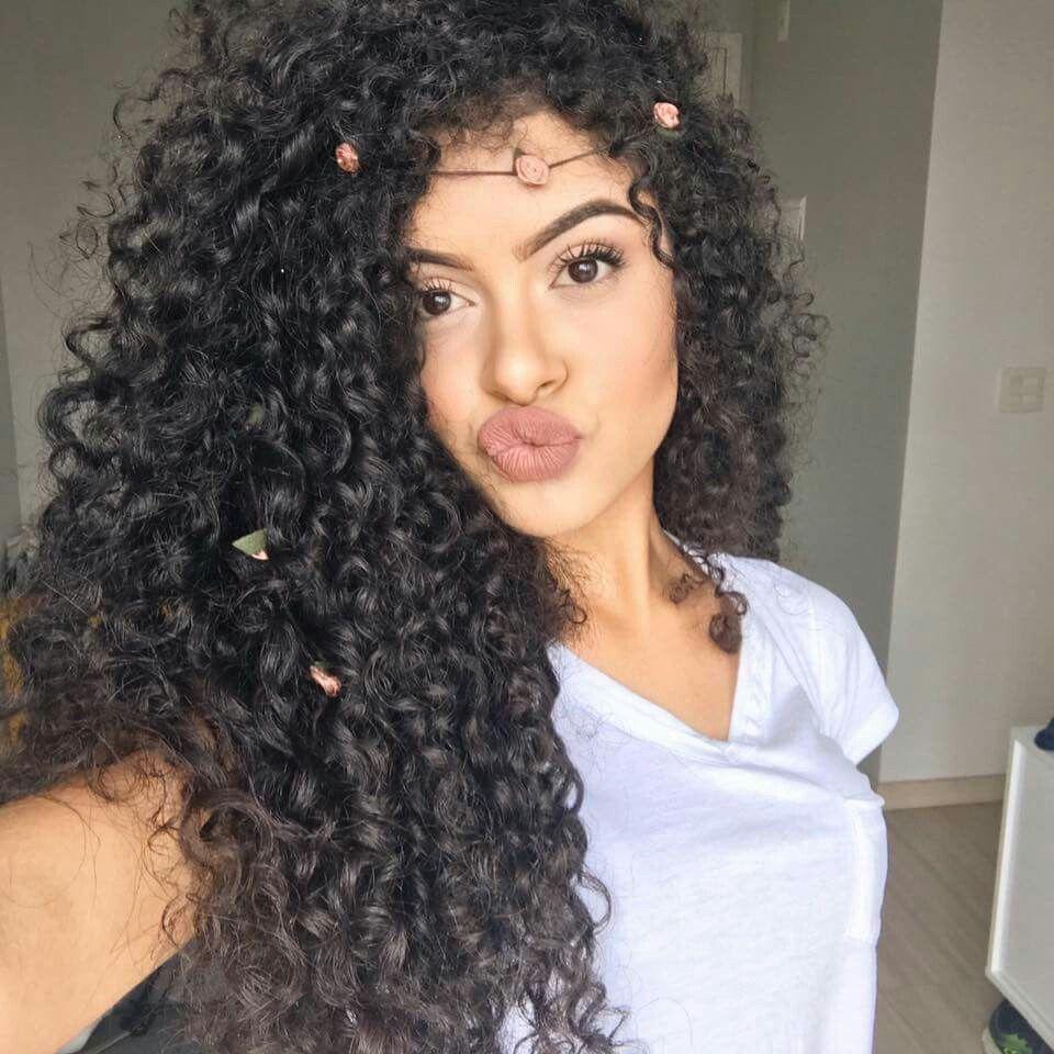 Steffany Borges Haaaaiiiiiirrrr Pinterest Hair Curly Hair