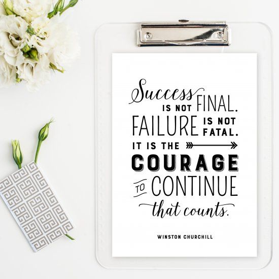 Amazing Life Quotes For Inspiration Free Printable Cards: Bring Some Inspiration To Your Home, Office Or Classroom