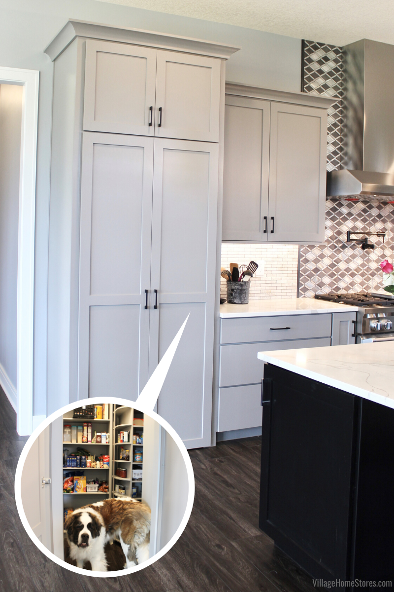 Village Home Stores Blog Kitchen And Bath Design And Remodeling In The Quad Cities In 2020 White Kitchen Pantry Kitchen Pantry Design Kitchen Pantry Doors