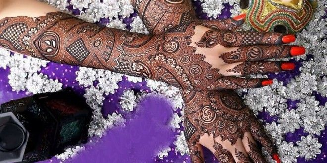 Latest Beautiful Mehndi Design For Bridal Collection