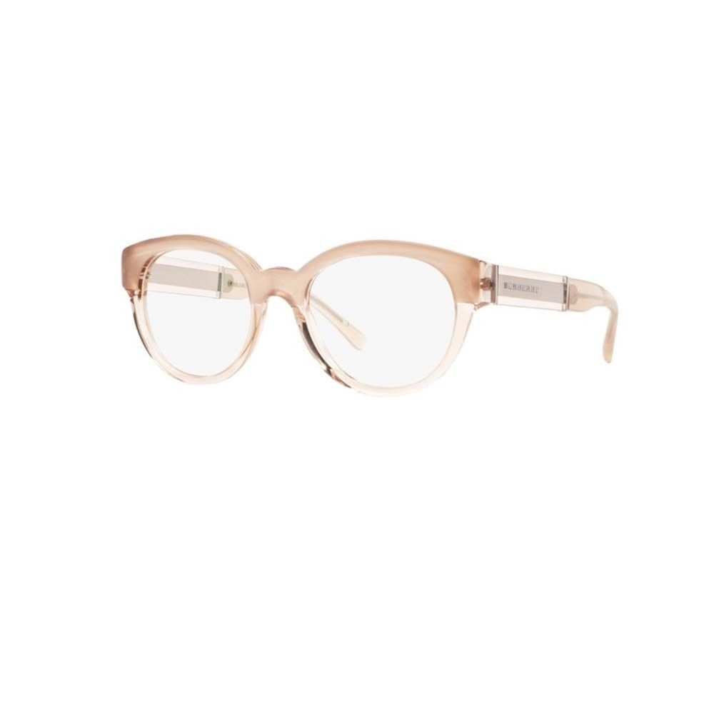 e317281d9e2c Burberry BE2209 3560 Top Opal Nude Nude Cat Eye Eyeglasses with 51mm Lens