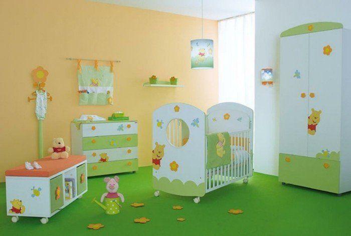 La peinture chambre bébé - 70 idées sympas   Paint bathroom