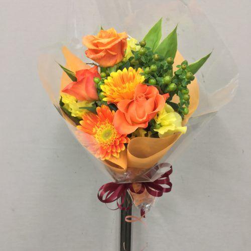 誕生日用の花束を作成しました 4161652