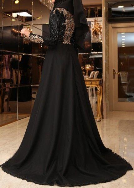 Robe de soiree longue turc