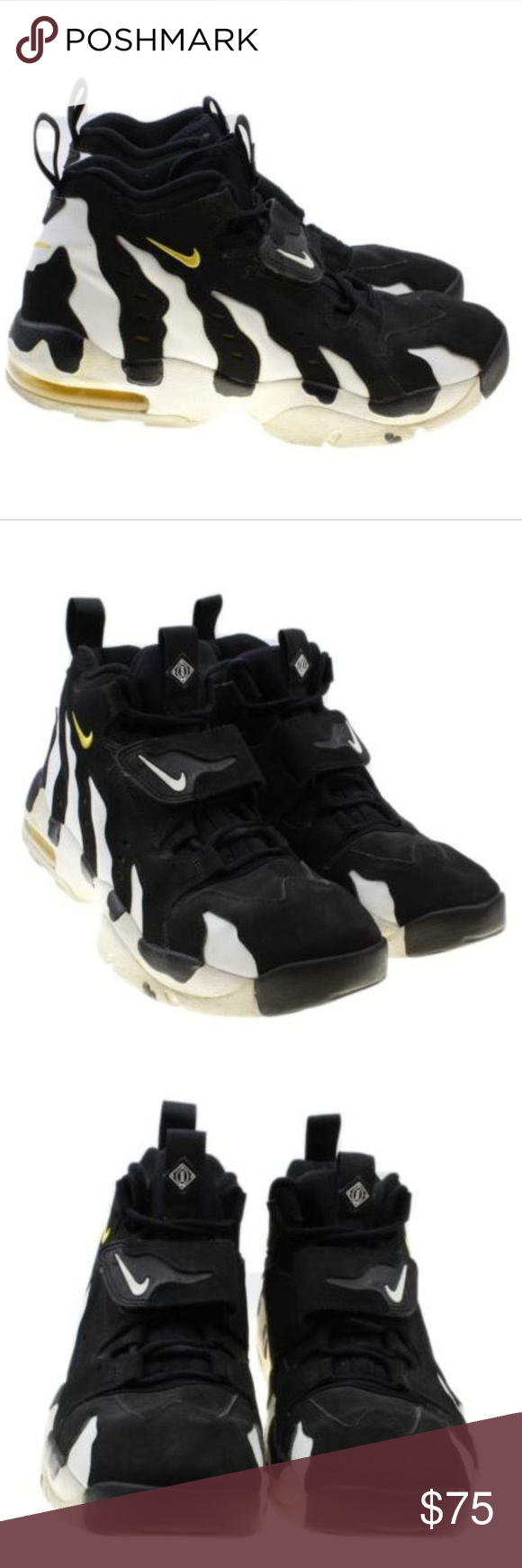 best cheap 8b58b cae7c Nike Air DT Max 96 Deion Sanders 316408-003 Nike Air DT Max 96 Deion  Sanders 316408-003 Black White Varsity Maize Speed Turf Size 11.5 In great  condition ...