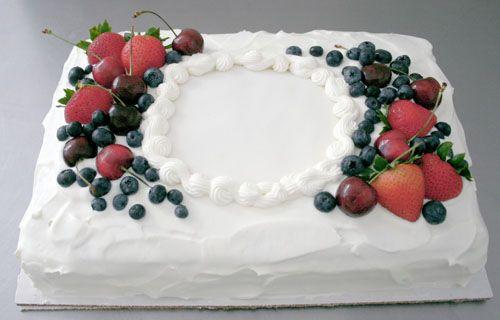Simple but beautiful. I like the idea of fruit around the ...