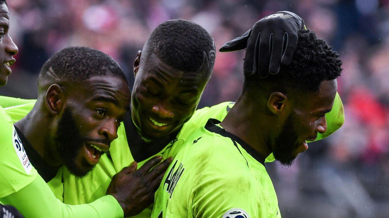 Nimes 23 Lille Lille, Nimes, Football highlight