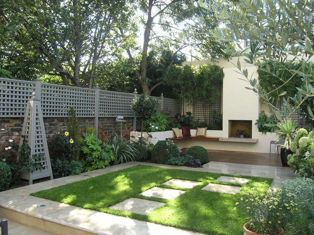 Compton Corner Islington N1 Design By Living Gardens Townhouse Garden Garden Design Small Garden Landscape