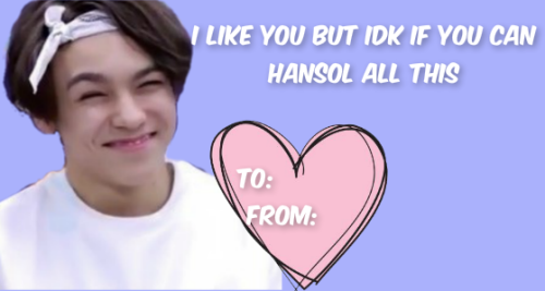 14 kpop cards too corny to give on valentine's day with