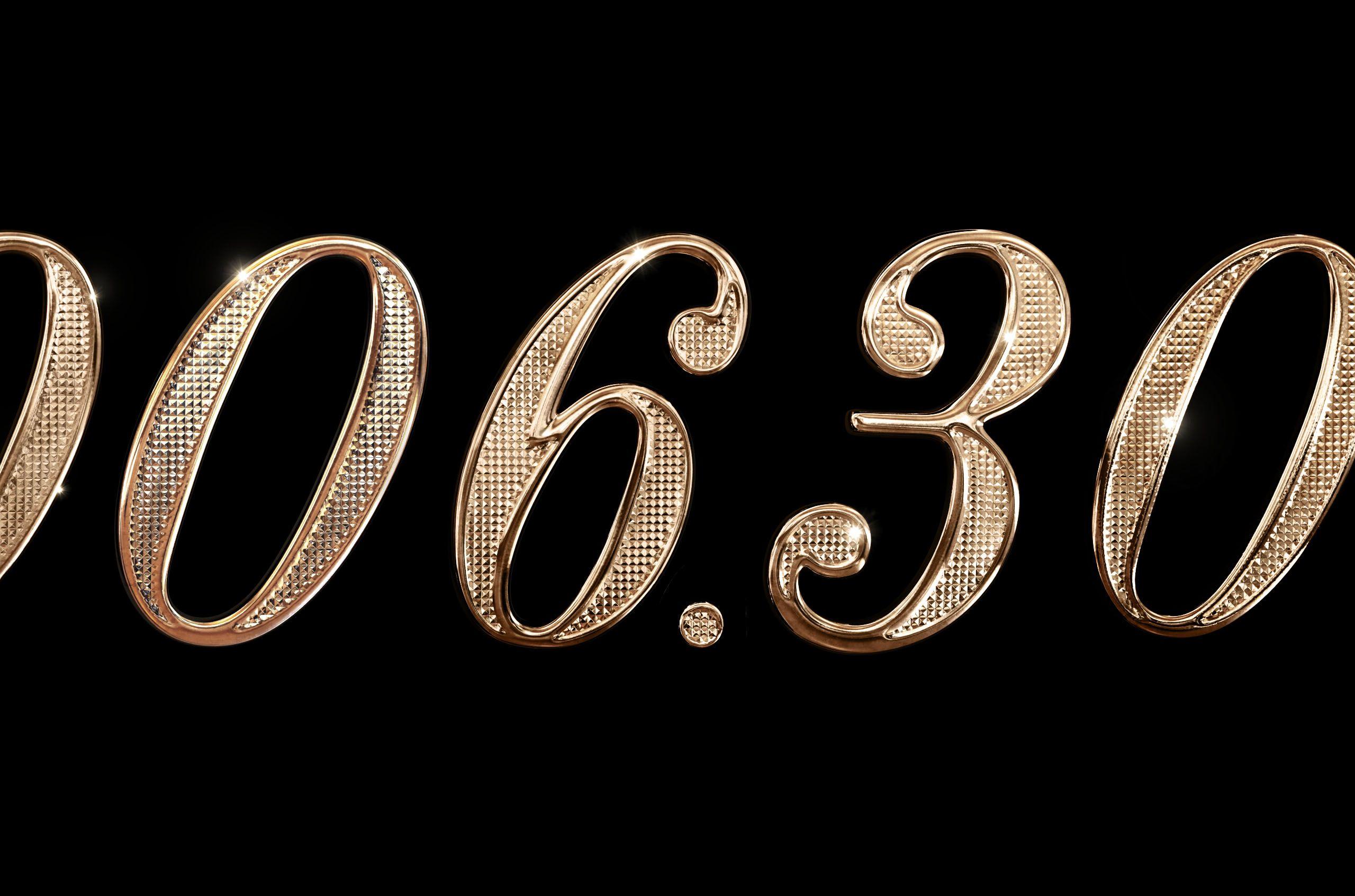 Notan Gold Letter 3D