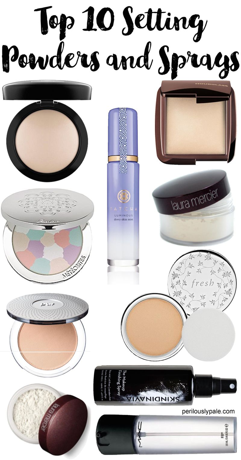 Top 10 Setting Powders and Sprays for Dry Skin