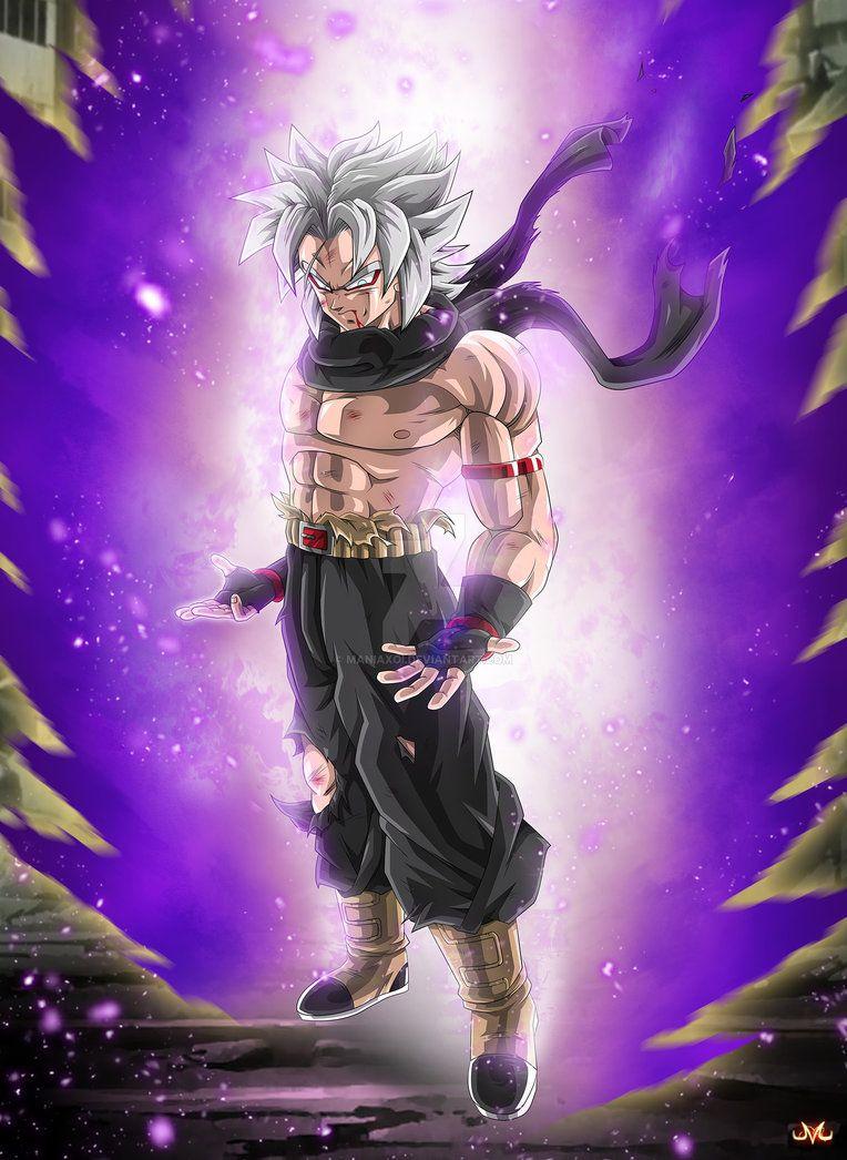 Oc Najera Mystik God by Maniaxoi Anime dragon ball
