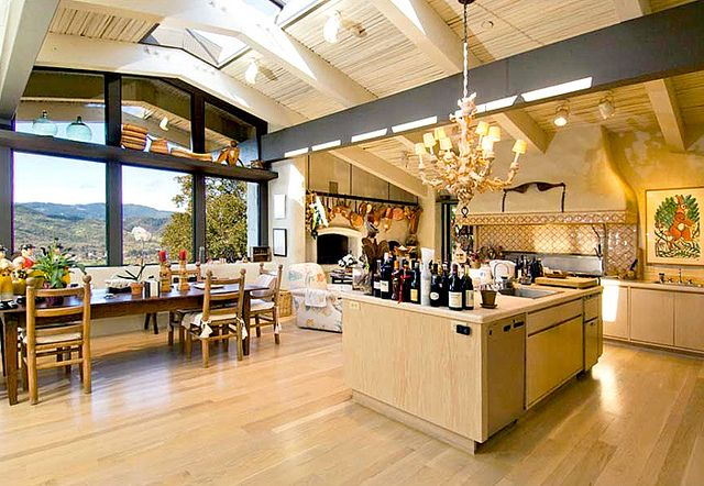 The cliff may mondavi estate amazing kitchens Cliff may house plans