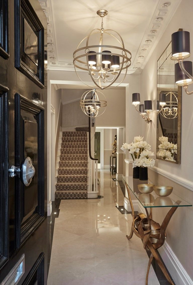 Co founder of laura hammett ltd talks to the luxpad on how for Modern entrance hall