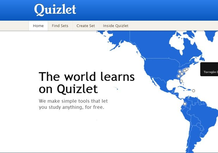 Quizlet Online Quizzes And Flash Cards Educational Technology