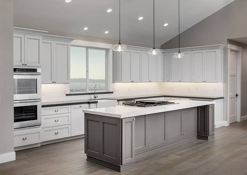 37 L Shaped Kitchen Designs Layouts Pictures In 2020 Modern