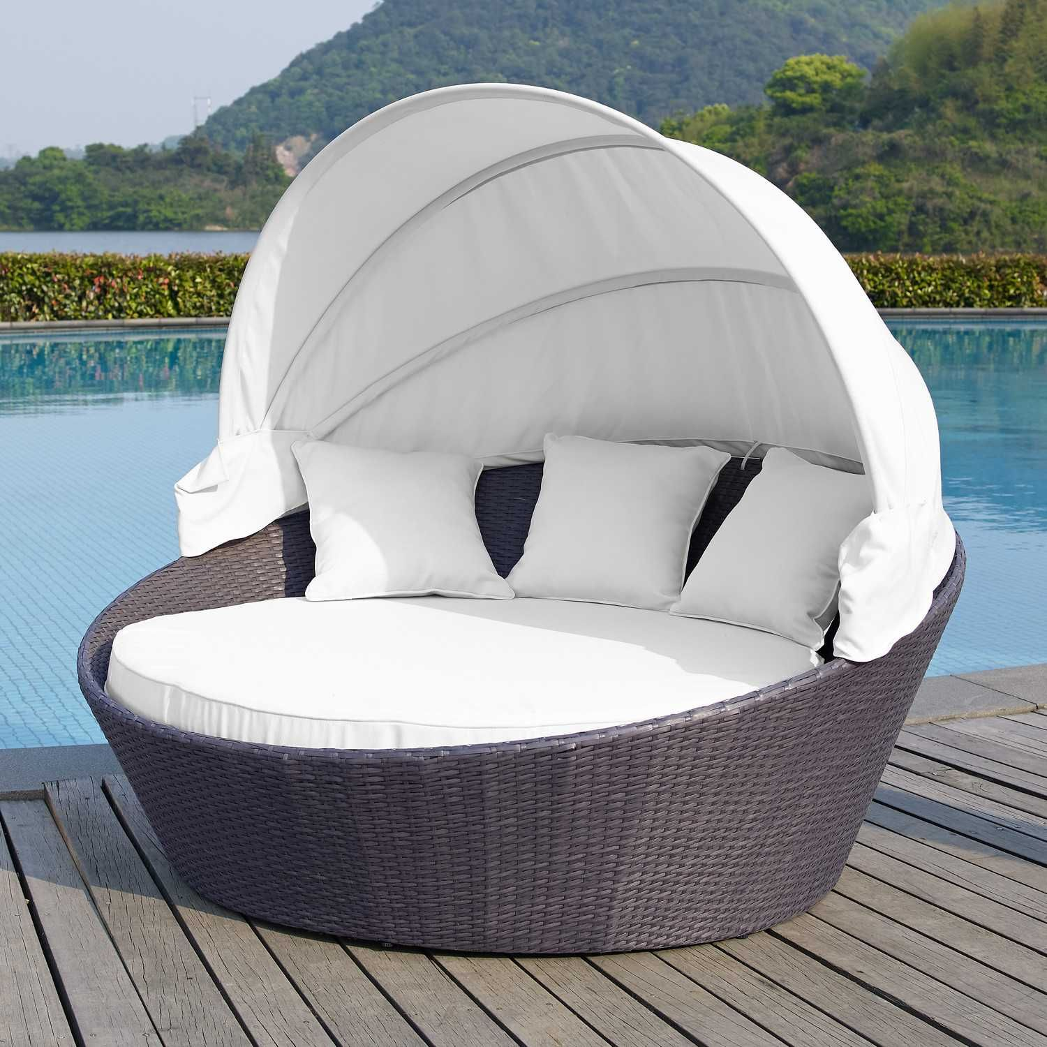 Designer Möbel Outlet Chaiselongue Outdoor Pool Möbel Mesh Chaise Lounge Outdoor Möbel