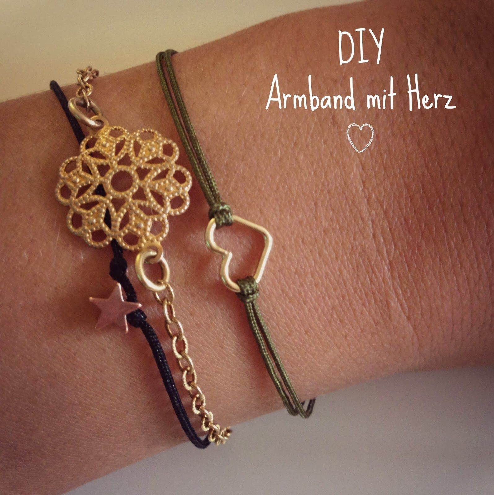 diy weihnachtsgeschenk armband mit herz diyjewllery. Black Bedroom Furniture Sets. Home Design Ideas