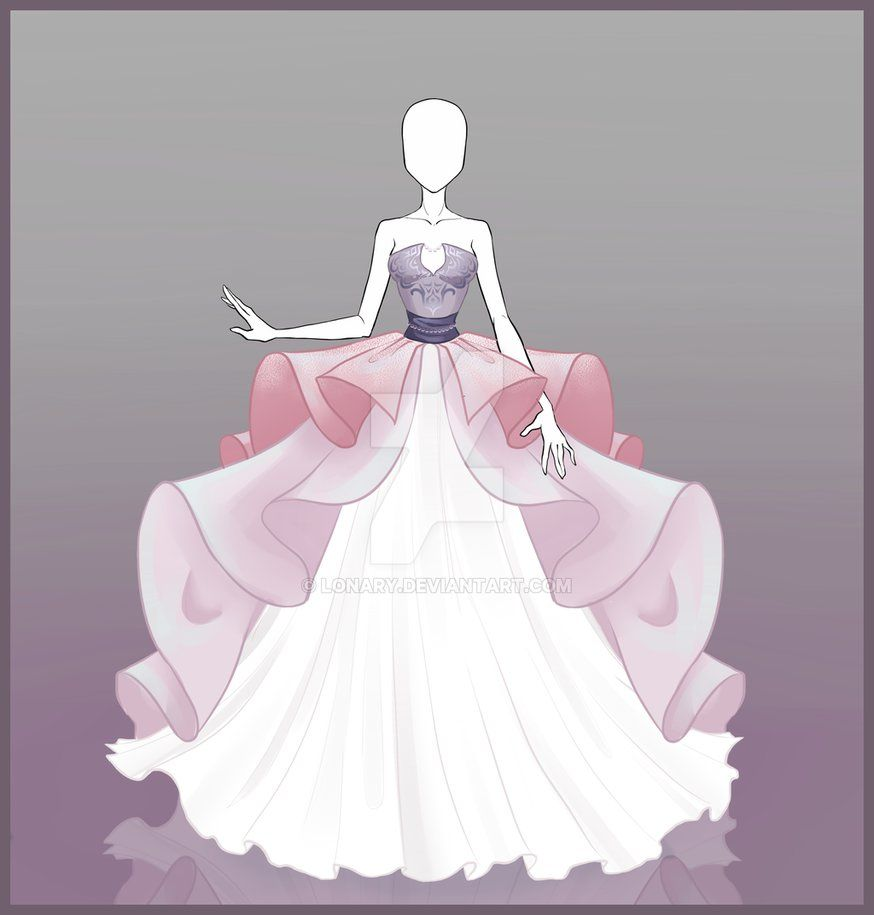 [Open] Design adopt_29 by Lonary on DeviantArt -   7 dress Princess draw ideas