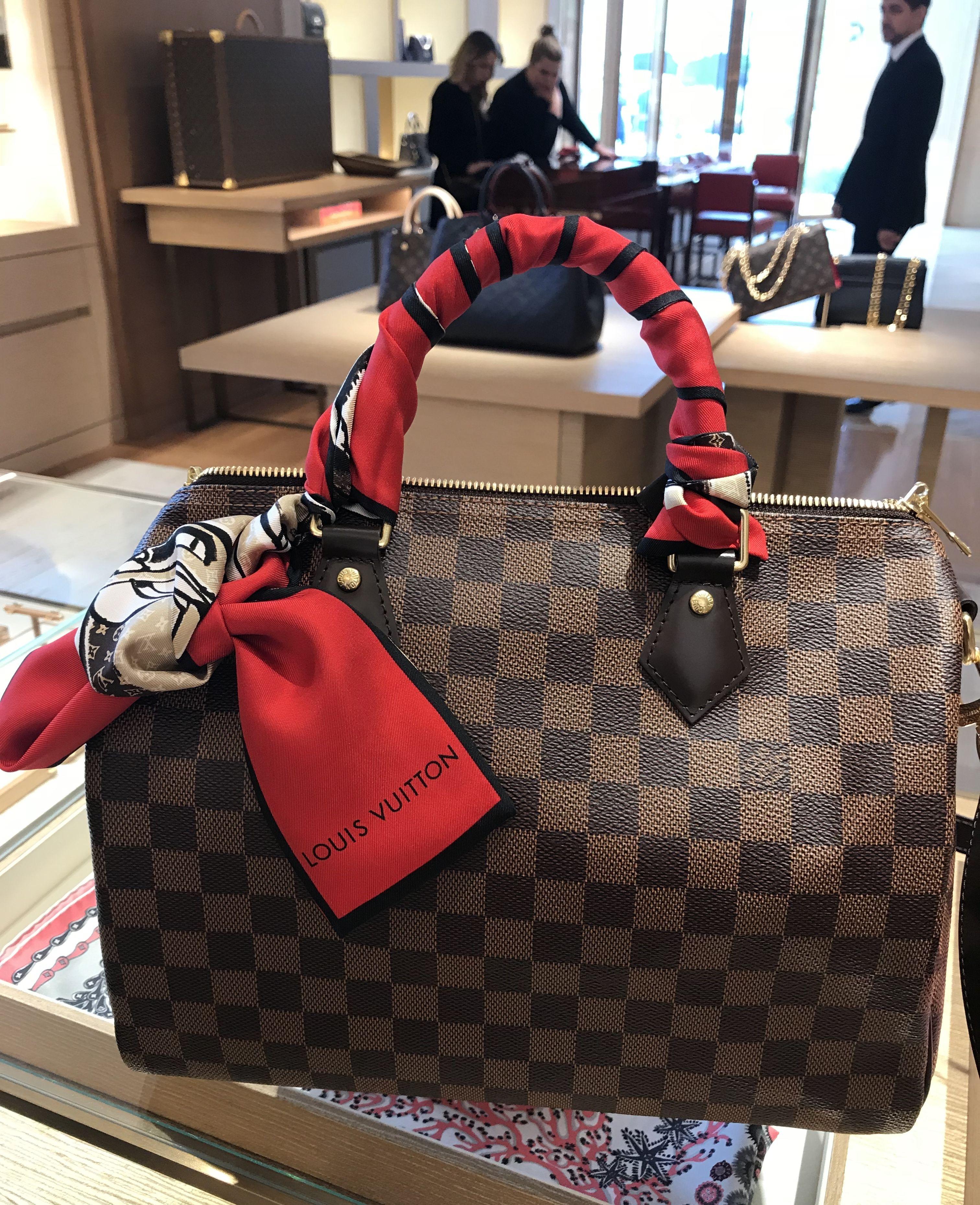 9afd29b83ba Louis Vuitton Speedy Bandouliere 30 Damier Ebene | Clothes and ...