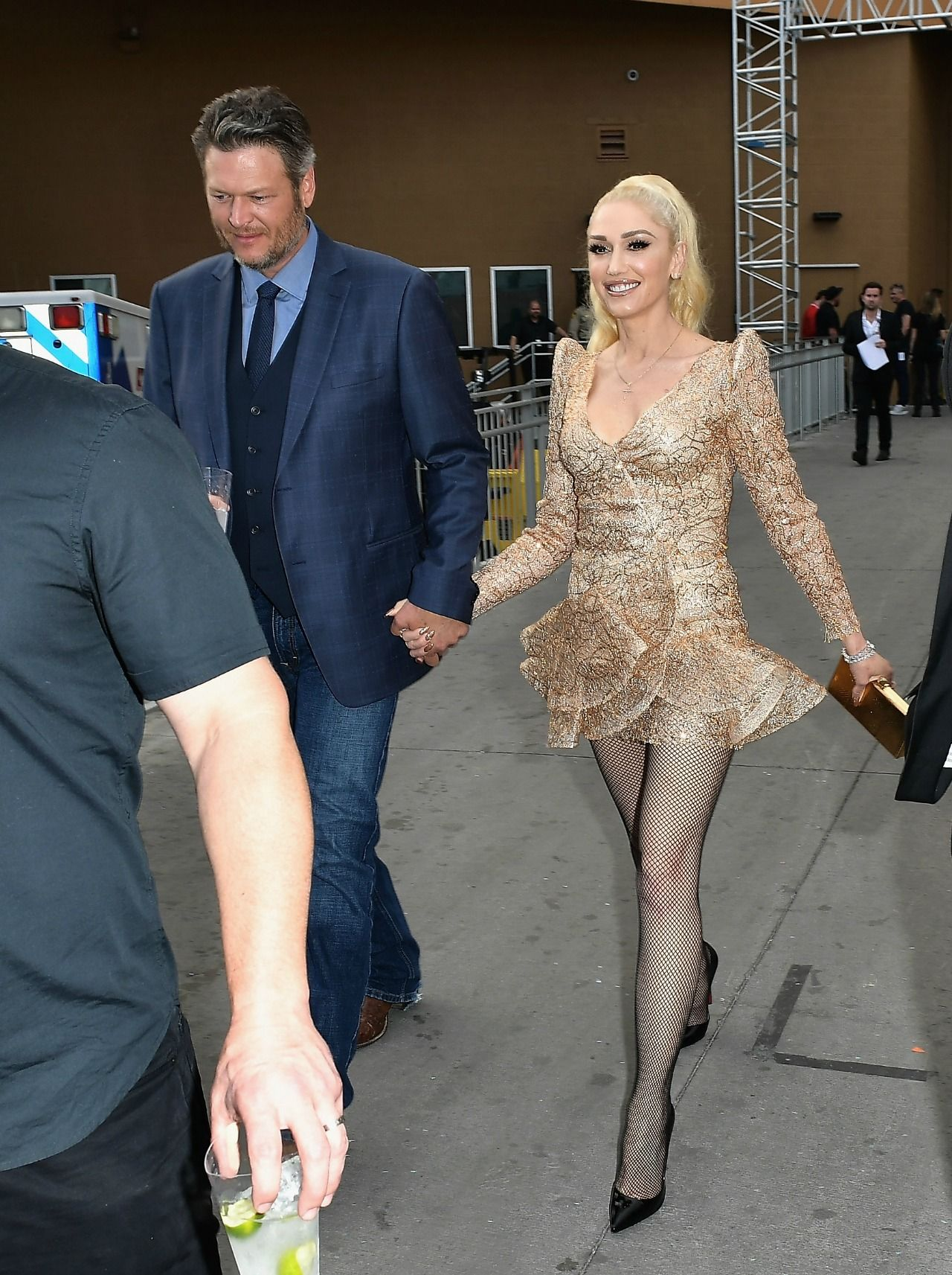 Gwen Stefani And Blake Shelton Look Adorable Together On -7702