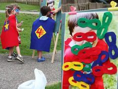 superhero birthday party games for 4 year olds