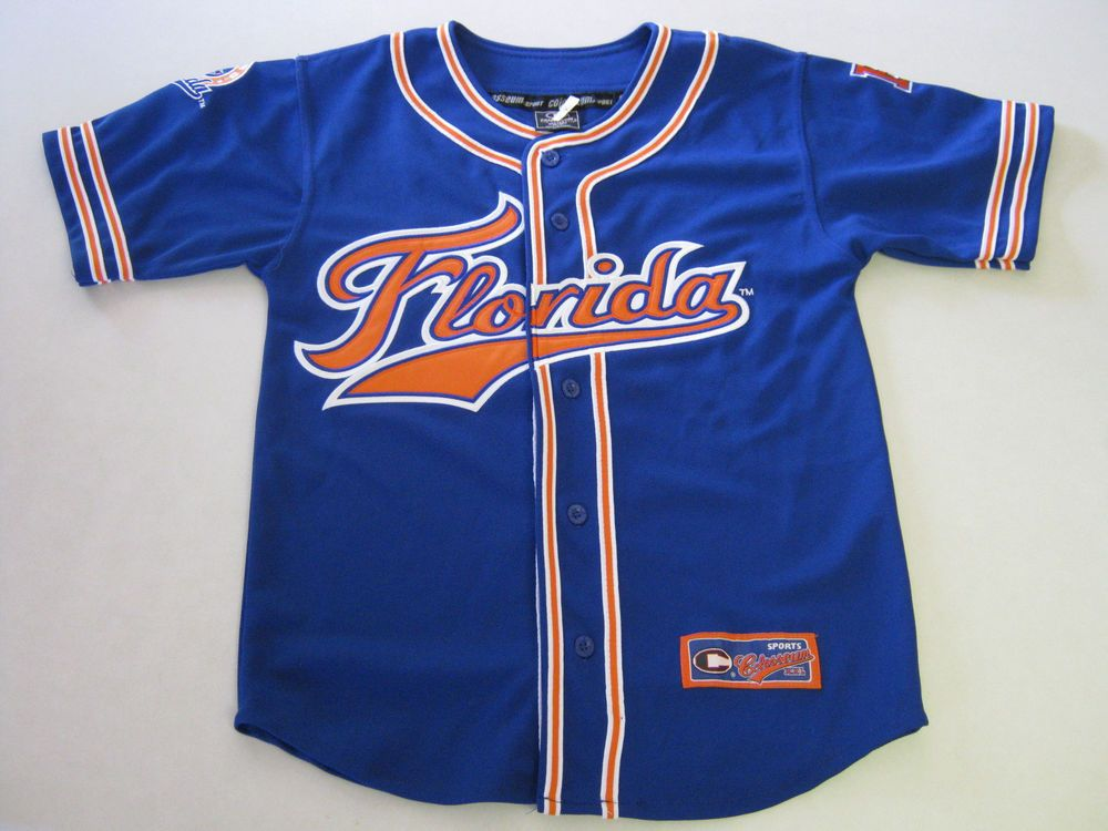 premium selection de12d beffa Florida Gators Baseball Jersey S/M 8/12 Youth Colosseum ...