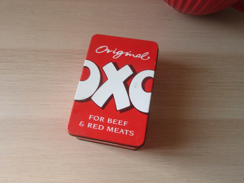 Vintage Oxo Tin 48 Cubes Kitchenalia Retro Kitchen Accessories Etsy Retro Kitchen Accessories Retro Kitchen Vintage Tin