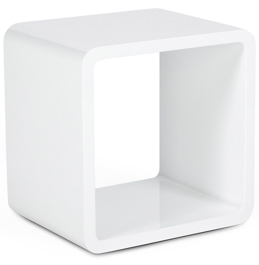 Cube Blanc Ikea Verso Kokoon Design Uk Side Table Shelve Concreat Pinterest