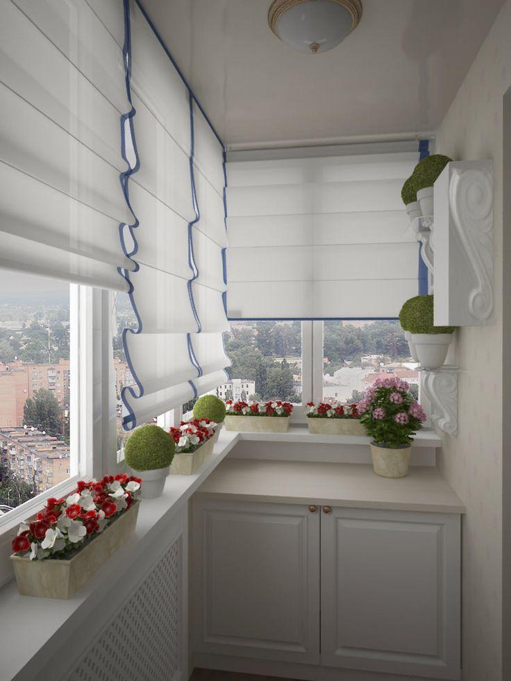 Gestaltung eines kleinen Balkons - Nelly Nedeva #smallbalconyfurniture