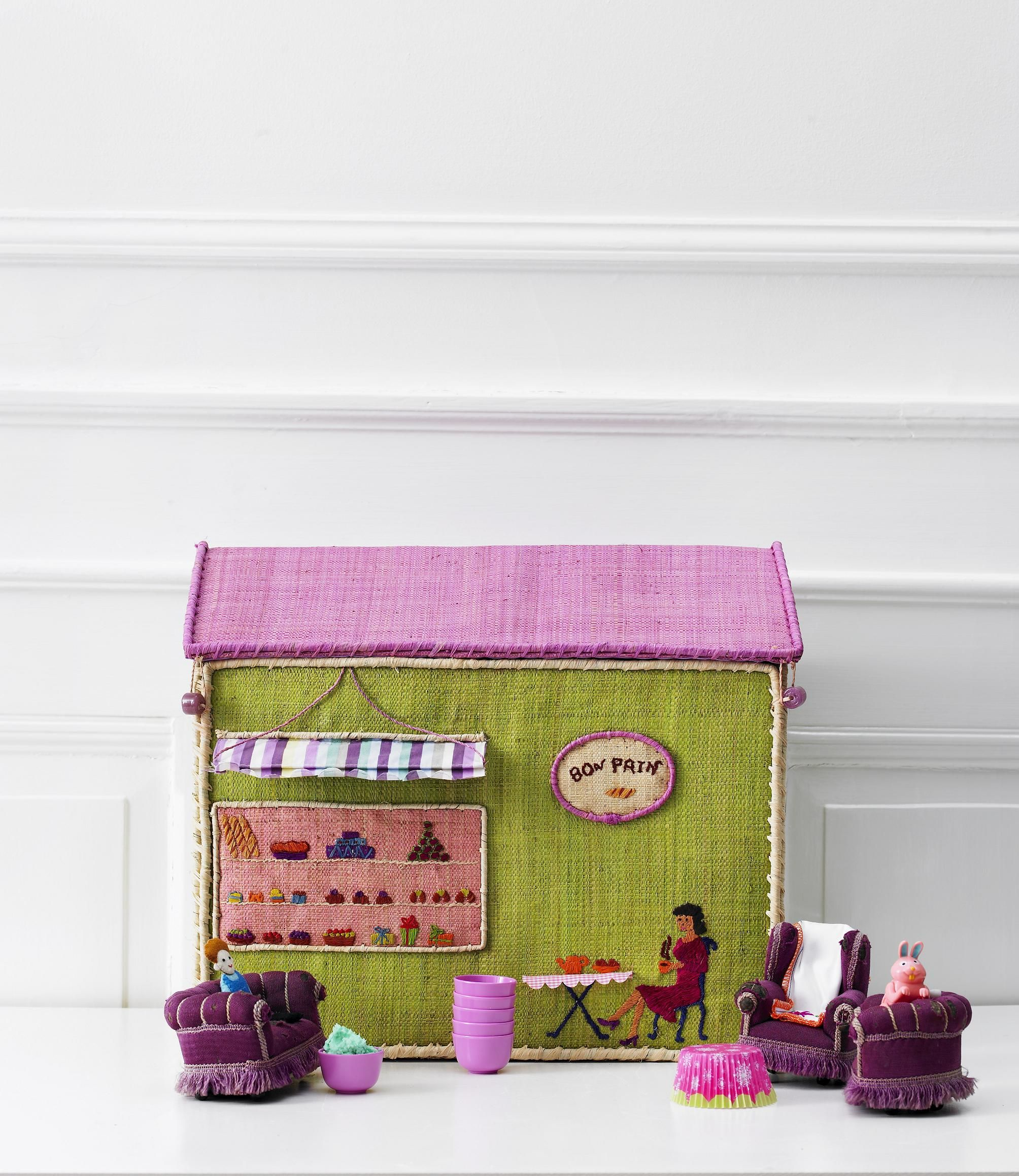 Rice Toy Baskets From Camel & Yak
