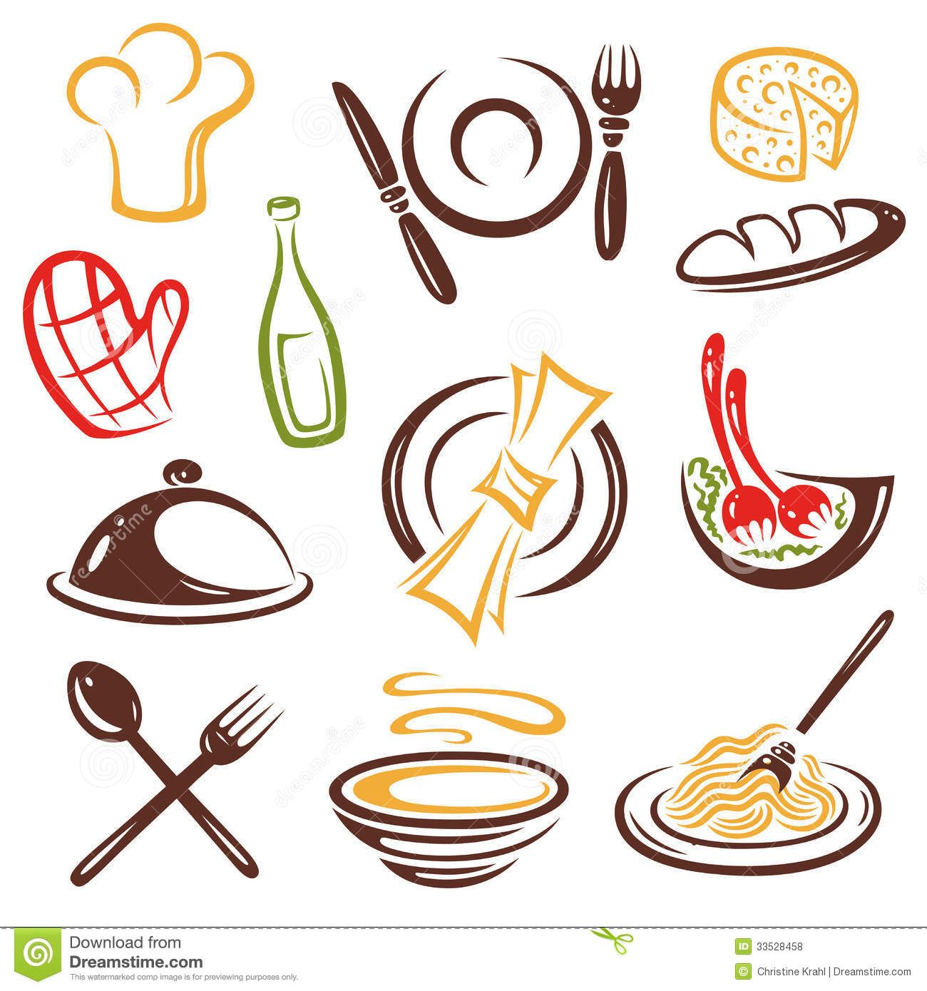 Gastronomia 1300 1390 vector pinterest - Instrumentos de cocina ...