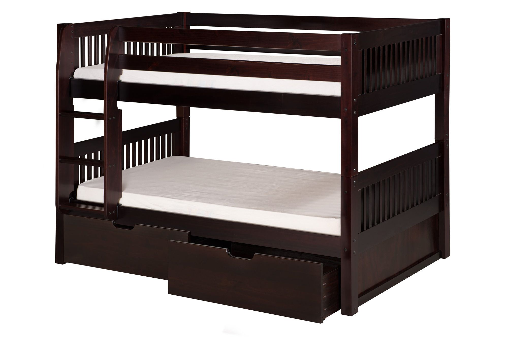 Low loft bed with desk and storage  Isabelle Twin Bunk Bed with Storage  Products  Pinterest  Bunk