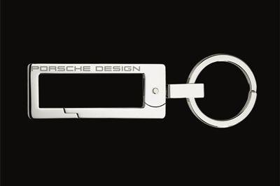 Porsche Design Key ring , French Cross, stainless steel