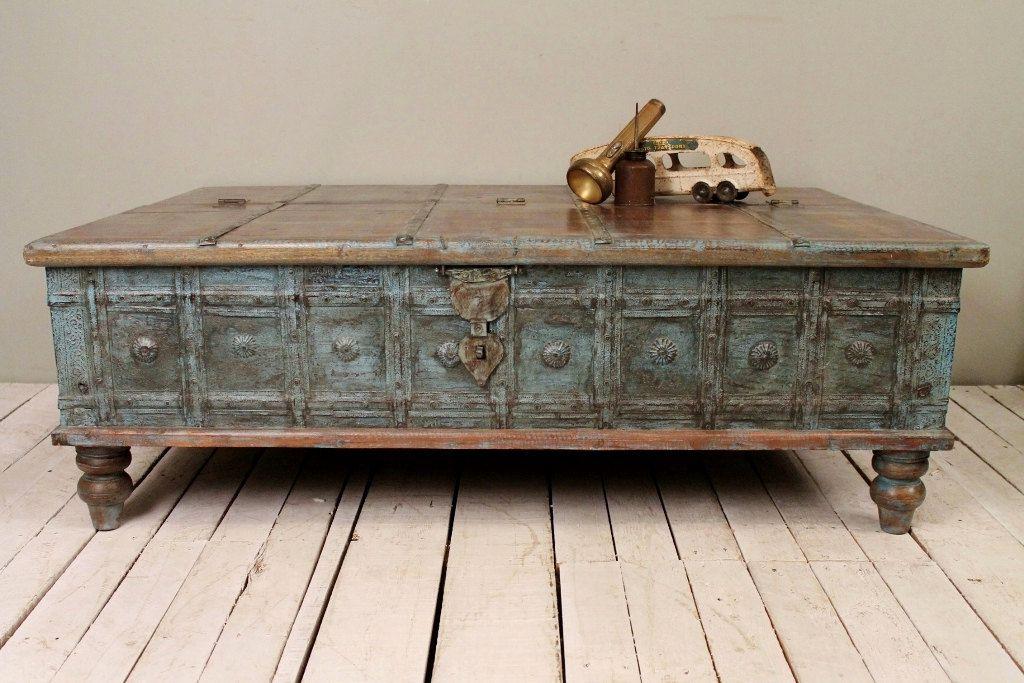 Peachy Antique Distressed Coffee Table In 2019 Antique Coffee Inzonedesignstudio Interior Chair Design Inzonedesignstudiocom
