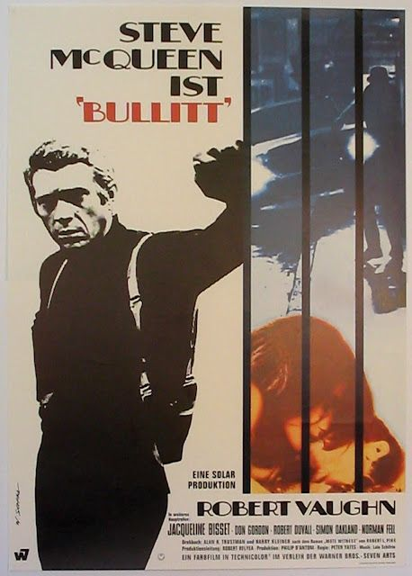 """""""Bullitt""""  1968 - don't know how many times my Dad made me watch that car chase..."""