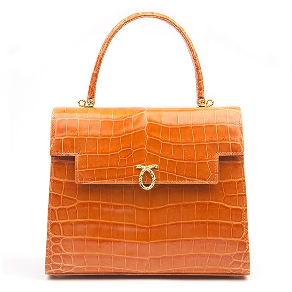 Traviata Handbag Crocodile Skin
