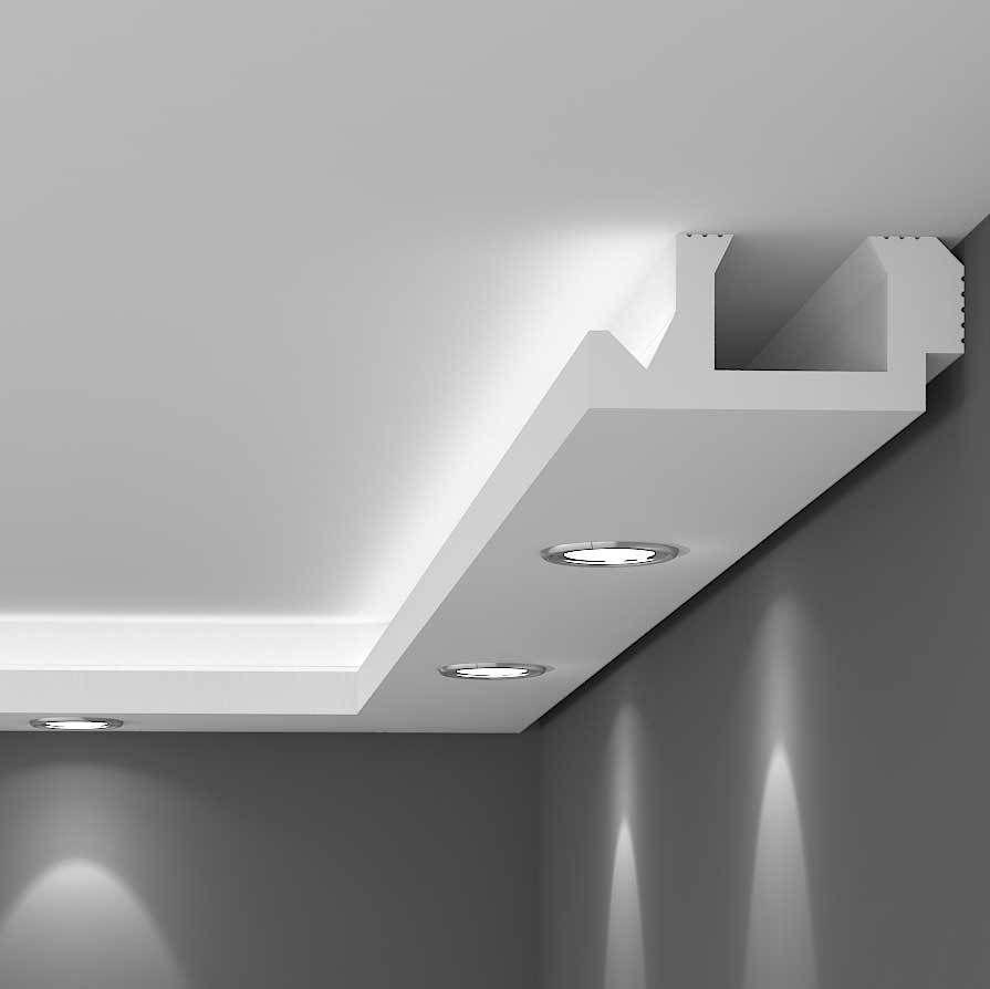 Koofverlichting Bestellen Led Spots Of Led Strips Koofmetlicht Wohnzimmerbeleuchtung Beleuchtung Wohnzimmer Lichtwande