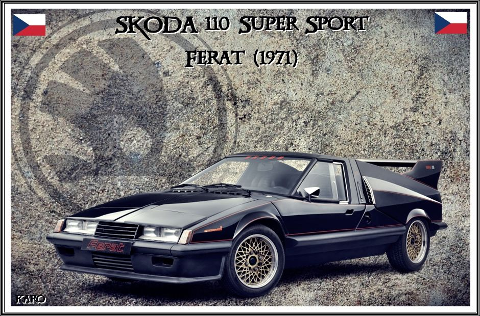 škoda 110 Super Sport Ferat 1971 Super Sport Skoda Sports