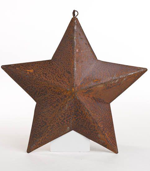 Primitive Dimensional Barn Star Ornament | Metal barn, Primitives ...
