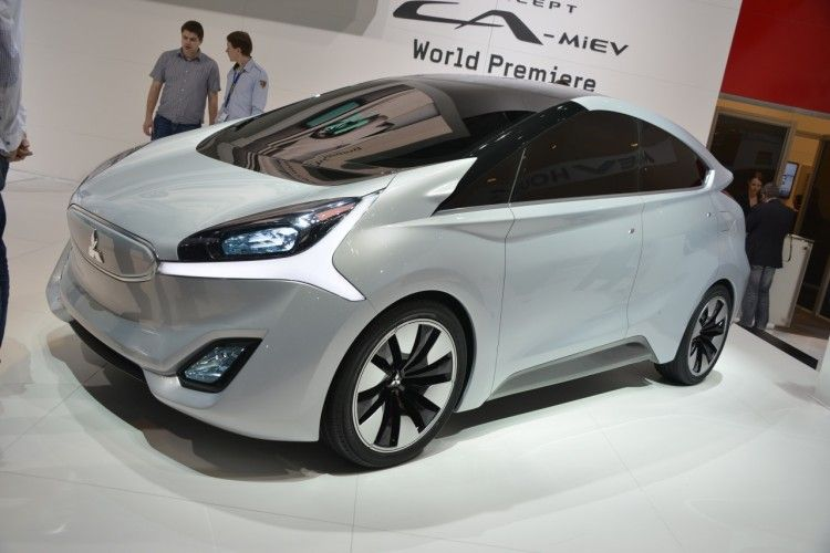 Concept CA-MiEV Debuted In Geneva In March OF 2013 And Hints At The Potential Future Of The Small All-Electric Vehicle At Mitsubishi
