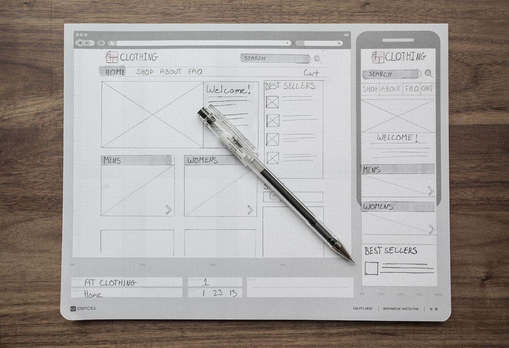 Responsive Sketch Pad Web Design Web Design Tips Website Design